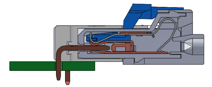 OMRON's unique dual-spring structure 1