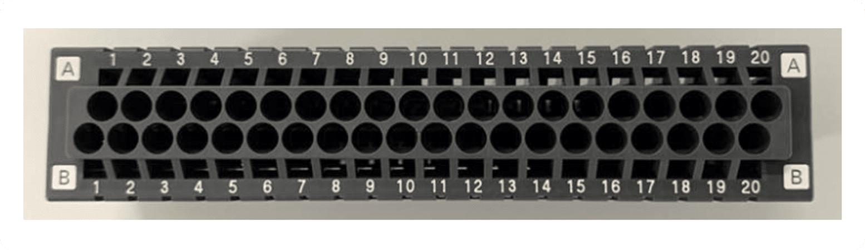 pin number markings