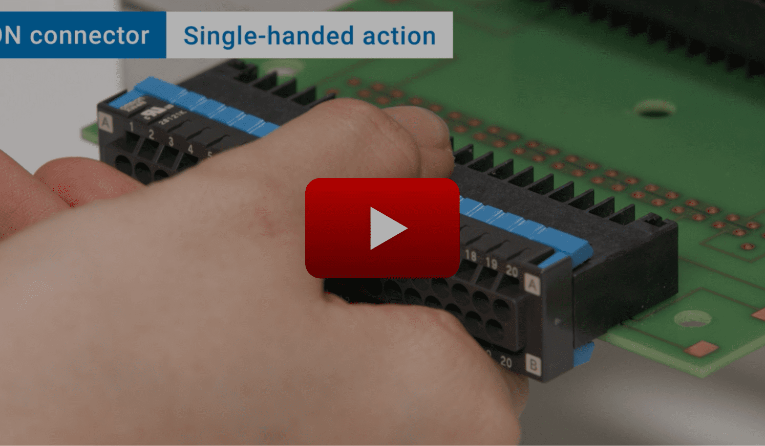 Single-handed action video