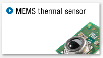 MEMS thermal sensor