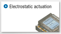 Electrostatic actuation