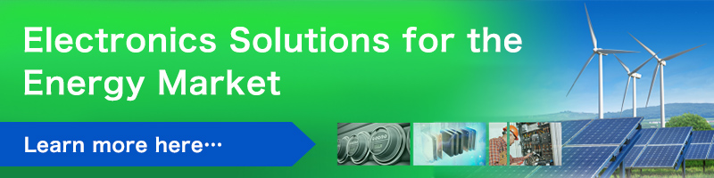 Electronics Solutions for the Energy Market Learn more here…