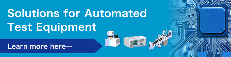 Solutions for Automated Test Equipment