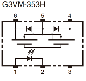 G3VM-353H:Dimensions4