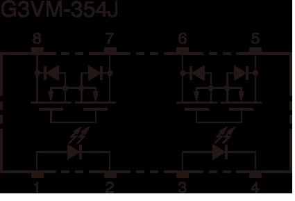 G3VM-354J:Dimensions4