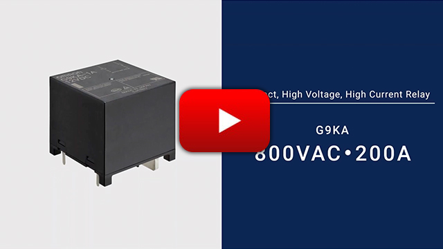 G9KA PCB Power Relays