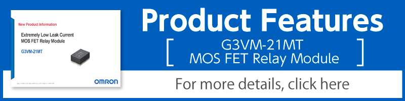 Product Features(G3VM-21MT MOS FET Relays Module)