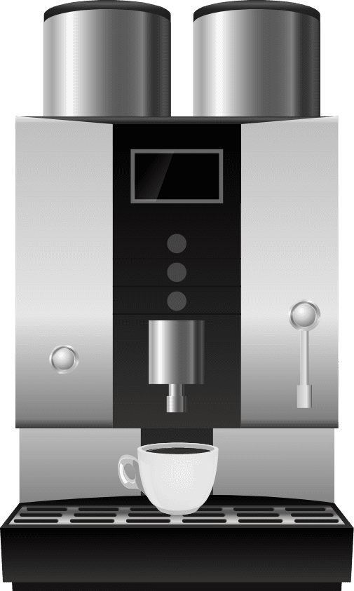 Coffee machines Illustration