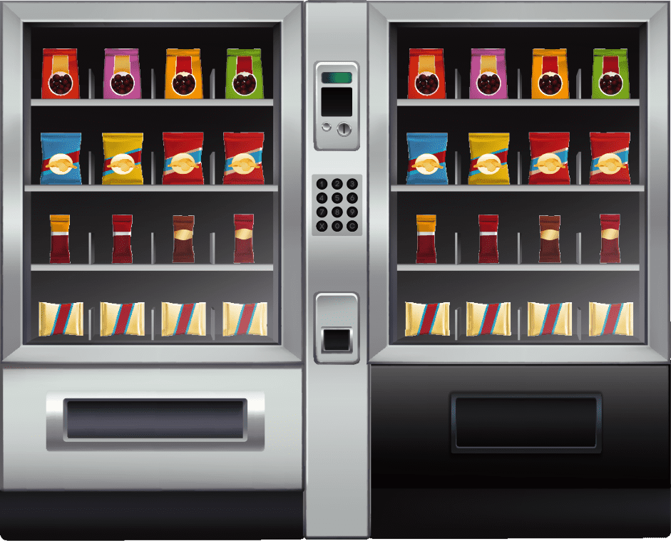 Vending machines Illustration