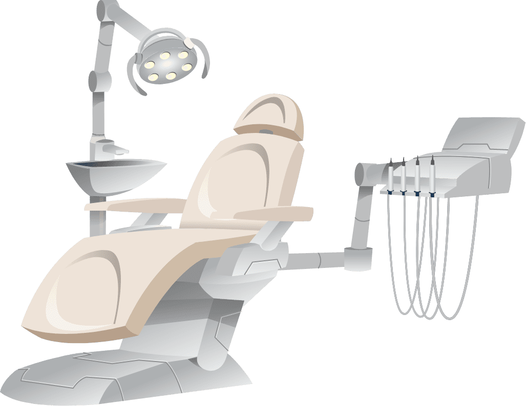 Dental equipment Illustration