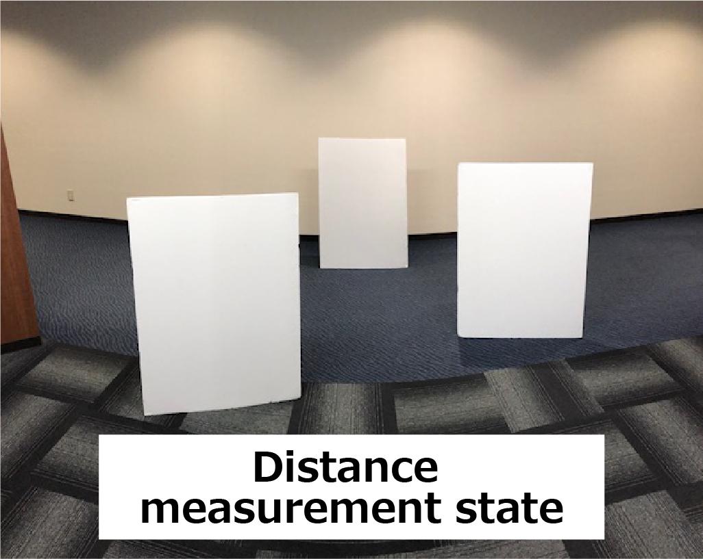 Distance measurement state