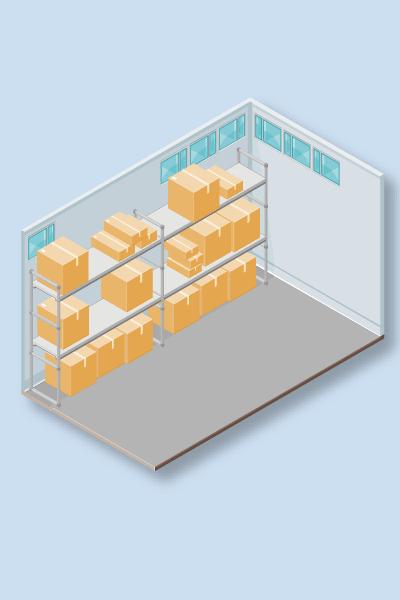 Empty space detection