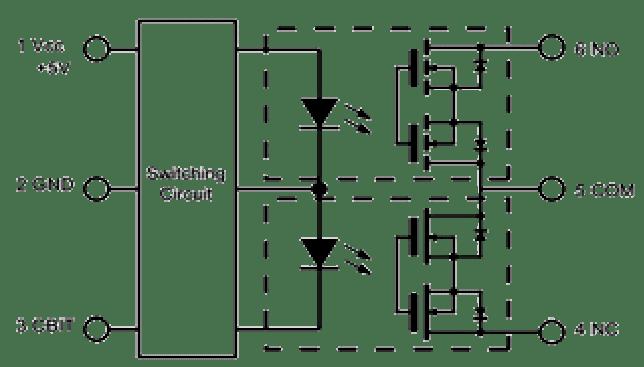 SPDT mos-fet relay module