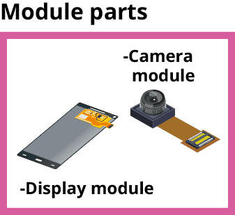 camera module and display module