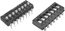 DIP switches A6TN/A6SN