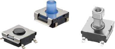 Tactile switches B3SL/B3FS