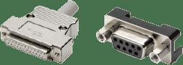 D-sub connectors XM2/3