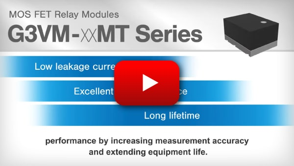 MOS FET Relay Module G3VM-66M Movie