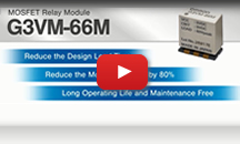 MOS FET Relay Module G3VM-66M Movie
