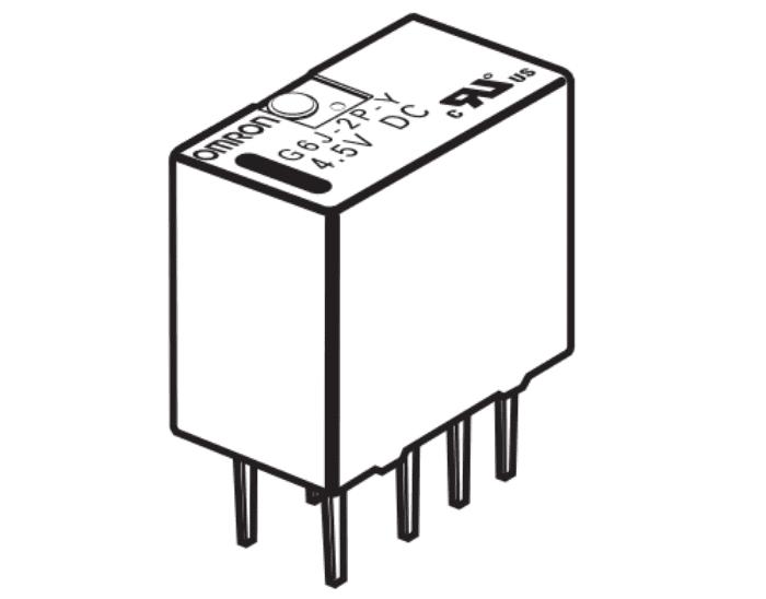 G6J-2P-Y PCB terminals