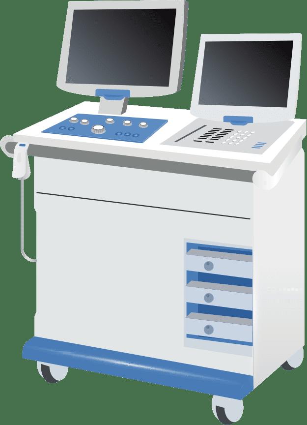 分析機器 イラスト