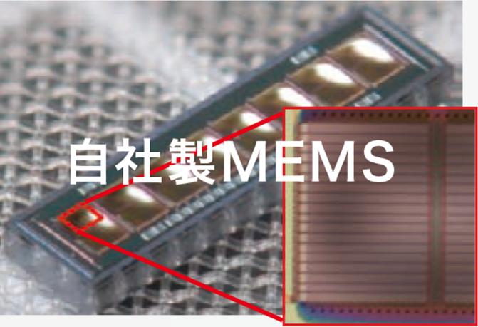 自社製MEMS