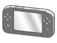 Handheld game console inspection