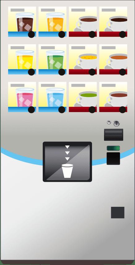 Vending machines Illustration