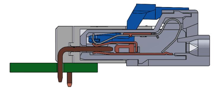 欧姆龙独特的双弹簧结构1