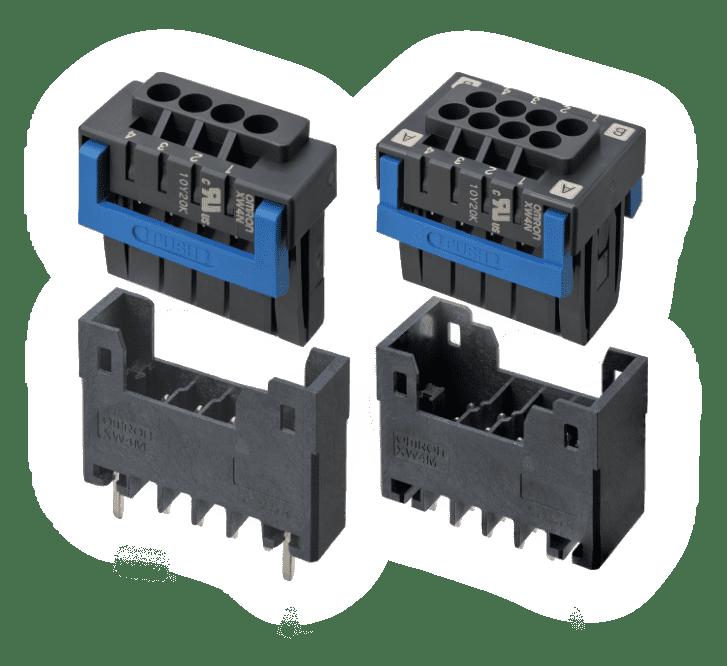 推入型端子台基板用连接器